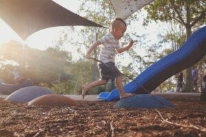 buitenspelen helpt het leerproces